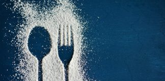 Sugar spoon fork