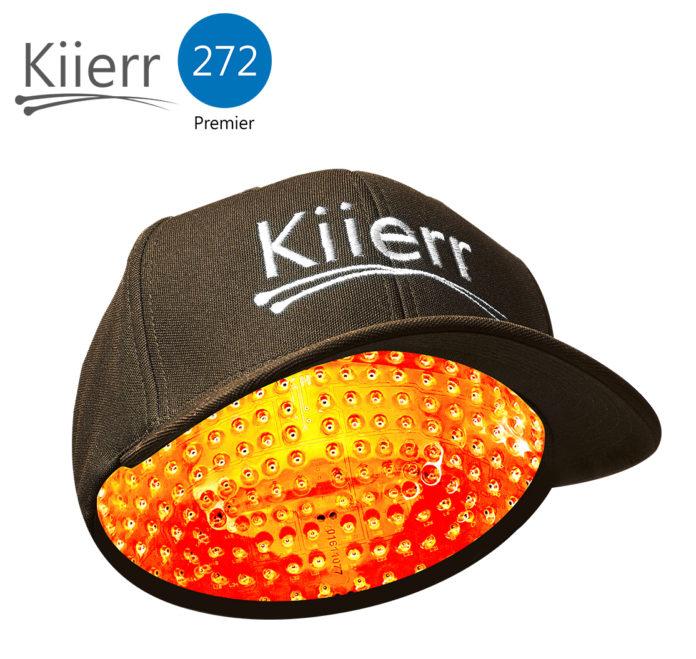 Kiierr 272 Premier Laser Cap Image Large - white text
